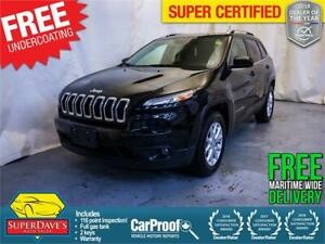 2016 Jeep Cherokee North 4X4 *Warranty* $182.44 Bi-Weekly OAC
