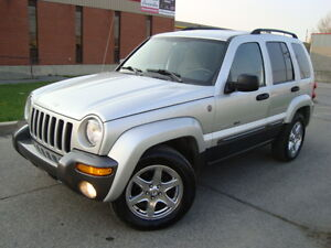 2004 JEEP LIBERTY ROCKY MOUNTAIN 4X4 AUTO ***TAX INCLUDED****