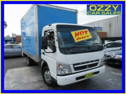 2009 Mitsubishi Fuso Canter FE MY08 FE83D 2.0 SWB White Cab Chassis 4.9l 4x2