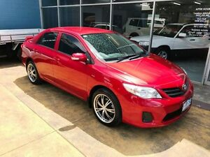2010 Toyota Corolla ZRE152R MY09 Ascent Wildfire 6 Speed Manual Sedan Hobart CBD Hobart City Preview