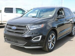 2018 Ford Edge SPORT, 400A, AWD, SYNC3, NAV, HEATED STEERING WHE
