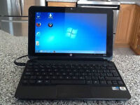 """LAPTOP,HEWLET PACKARD """" HP 10"""" MINI"""" --exc. cond. $80"""