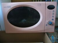 microwave oven pink Hinari digital lifestyle 800w cooker - southbourne