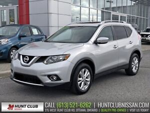 2015 Nissan Rogue SV | Pano Moonroof, Rear Camera