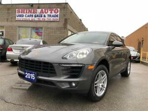 2015 Porsche macan S AWD NAVIGATION PANORAMIC ROOF