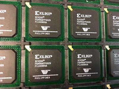 Lot Of 5 New Xilinx Xcv200-5fg456c Virtex 2.5v Fpga 456 Bga