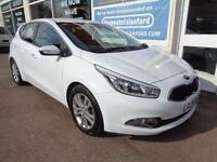 Kia ceed 1.6 GDI 2 16v ( 133bhp ) ISG 2013 Full S/H P/X Finance Available