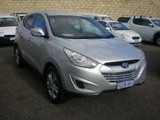 2010 Hyundai ix35 LM Active (FWD) Silver 6 Speed Automatic Wagon Beaconsfield Fremantle Area Preview