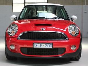 2009 Mini Hatch R56 Cooper S Red Sports Automatic Hatchback Knoxfield Knox Area Preview