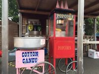POPCORN & CANDY FLOSS/SLUSH PUPPIES/PHOTO BOOTHS & MUCH MORE