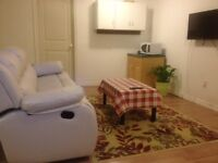 A nice basement bedroom for girls, close to University