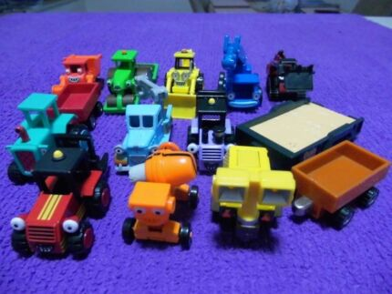 DIE CAST METAL BOB THE BUILDER VEHICLES- DISPLAY- $35 / 3.50EA. Mudgee Mudgee Area Preview