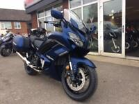 YAMAHA FJR1300AE ELECTRONIC SUSPENSION 2018 MODEL PANNIERS