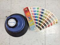 Pantone book/ fabric circle cutter **********HURRY CLOSING******