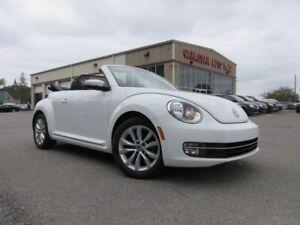 2014 Volkswagen Beetle  CONVERTIBLE HIGHLINE, 50K!