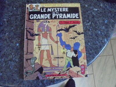 belle reedition blake et mortimer le mystere de la grande pyramide tome 1