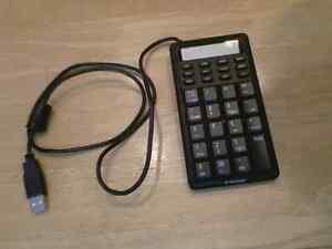 Clavier numérique Kensington avec écran pour ordinateur portable