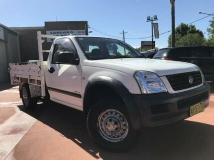 2005 Holden Rodeo RA MY05 LX White 5 Speed Manual 2D Cab Chassis Richmond Hawkesbury Area Preview