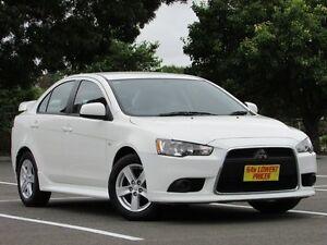 2013 Mitsubishi Lancer CJ MY13 ES White 5 Speed Manual Sedan Blair Athol Port Adelaide Area Preview