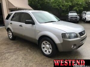 2005 Ford Territory SX TX (RWD) Silver 4 Speed Auto Seq Sportshift Wagon Lisarow Gosford Area Preview