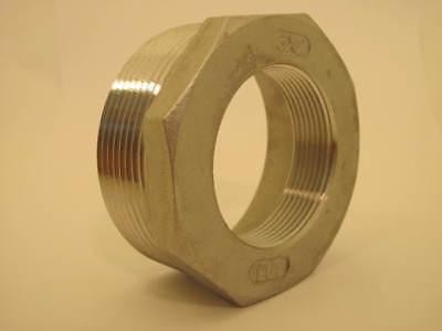 Stainless Steel Npt 3 X Npt 2 Reducer Bushing