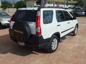 2006 Honda CR-V Extra 4WD Taffeta White 5 Speed Automatic Wagon Rosslea Townsville City Preview