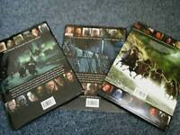 Lord of the rings 3 set books illustrated movie companion