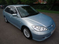 Honda Civic 2006 1.3 IMA Hybrid ES 4dr very low milage with service history road £20