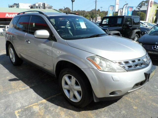 2005 Nissan Murano Z50 Ti Silver Continuous Variable Wagon