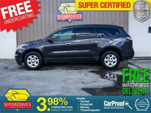 2015 Chevrolet Traverse LS 7 Seats *Warranty* $147.62 Bi/ OAC