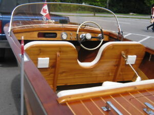 1967 Antique Mahogany boat