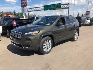 2016 Jeep Cherokee Limited 4WD LOW KM LOADED