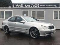Mercedes C200CDI Advantgarde**Fantastic car throughout**Upgraded Amg Alloy wheels, Folder of history