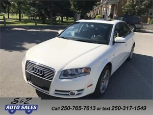 2006 Audi A4 3.2L 6 speed manual! Low km! Very rare! AWD! SALE