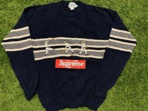 Vintage 90s Wimbledon Hand Frame Knit Sweater Size L
