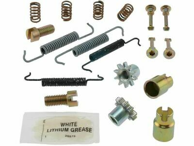 For 1988-2001 BMW 750iL Parking Brake Hardware Kit Rear 15127XV 1989 1990 1991