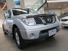 2010 Nissan Navara D40 ST Silver 5 Speed Automatic Utility Essendon Moonee Valley Preview