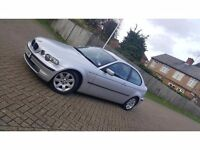 2002 (02) BMW 3 SERIES E46 316ti SE 1.8L PETROL AUTOMATIC 3DR COMPACT MOT DEC 2016 HPI CLEAR 2 KEYS
