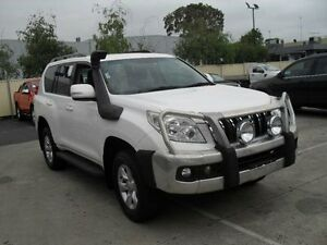 2011 Toyota Landcruiser Prado GRJ150R GXL (4x4) White 6 Speed Manual Wagon Moorabbin Kingston Area Preview