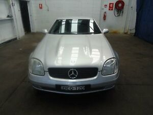 1999 Mercedes-Benz SLK230 Kompressor Silver 5 Speed Automatic Convertible Cardiff Lake Macquarie Area Preview