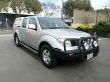 2011 Nissan Navara D40 ST (4x4) Silver 5 Speed Automatic Melrose Park Mitcham Area Preview