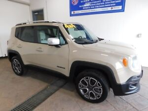 2016 Jeep Renegade Limited LEATHER NAVI SUNROOF