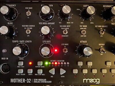 Moog Mother 32 Keyboard Synthesizer Sequencer in Box
