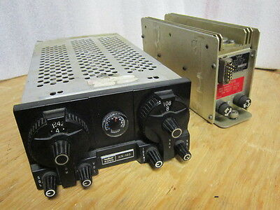 Vintage King Kx 160 Nav Com With Ks 505 Power Supply 14 28 Volt  Excellent Cndx