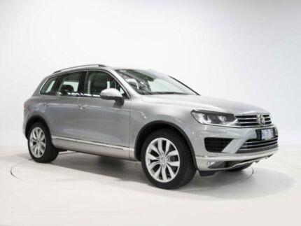 2015 Volkswagen Touareg MY16 VOLKSWAGEN TOUAREG V6 TDI 8 SPEED AUTO Tungsten Silver Wagon Devonport Devonport Area Preview