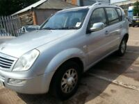 SSANGYONG REXTON 27 SE 57 REG LOW MILES 100K DIESEL SUV 4X4 4WD SERVICE HISTORY