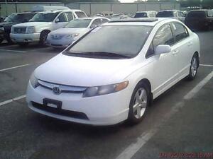 2007 Honda Civic Sdn LX Clean Title! Power Locks! 4 CYL!