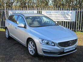 VOLVO V60 2.0 TD D4 181 BHP BUSINESS EDITION ESTATE SILVER 2013 (63) 121K FSH!!!