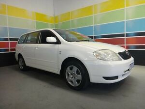 2003 Toyota Corolla ZZE122R Conquest White 4 Speed Automatic Wagon Wangara Wanneroo Area Preview