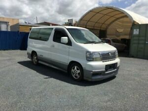 1999 Nissan Elgrand E50 White 4 Speed Automatic Wagon Currumbin Waters Gold Coast South Preview